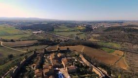 Monteriggioni materia?u filmowego papugi aereal dyskoteka zbiory wideo