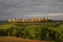 Monteriggioni Royalty Free Stock Photography