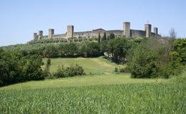 Monteriggioni, Toscana Fotografia Stock Libera da Diritti