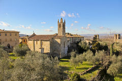 Monteriggioni, Toscana, Italia Imagenes de archivo