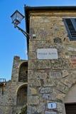 Monteriggioni, Toscana, Italia Fotos de archivo