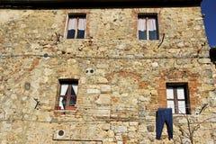 Monteriggioni, Toscana, Italia Foto de archivo