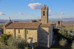 Monteriggioni, Toscane, Italie Photographie stock