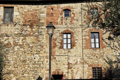 Monteriggioni, Toscane, Italie Photographie stock libre de droits
