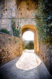 Monteriggioni toscany royalty free stock images
