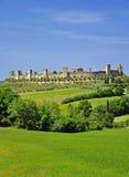 Monteriggioni,Tuscany Stock Photo