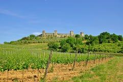 Monteriggioni,Tuscany Stock Photography