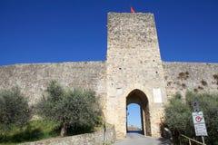 Monteriggioni, Tuscany, Italy Stock Photography