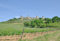 Monteriggioni,Tuscany,Italy Royalty Free Stock Images