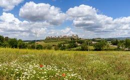 Monteriggioni, tuscany, italy Stock Images
