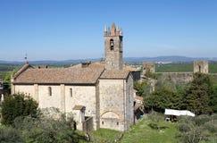 Monteriggioni, Tuscany, Italy Royalty Free Stock Photography