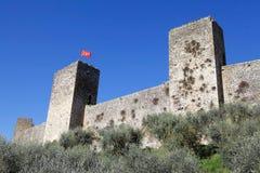 Monteriggioni, Tuscany, Italy Royalty Free Stock Images