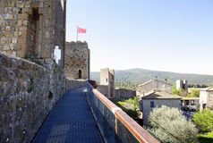 Monteriggioni, Tuscany, Italy Stock Image