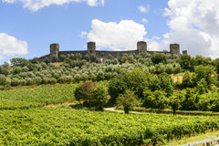 Monteriggioni (Tuscany) Royalty Free Stock Photography