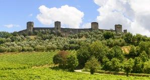 Monteriggioni (Tuscany) Royalty Free Stock Photos