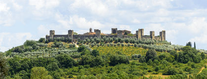 Monteriggioni (Tuscany) Stock Photos