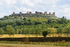 Monteriggioni (Tuscany) Royalty Free Stock Photo