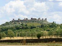 Monteriggioni (Tuscany) Stock Photo