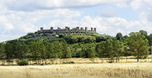 Monteriggioni (Tuscany) Royalty Free Stock Images