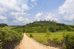 Monteriggioni Tuscany Stock Photos