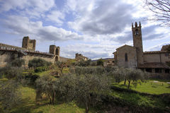 Monteriggioni Royalty Free Stock Images