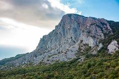 Montering 'Foros i Krim arkivbild