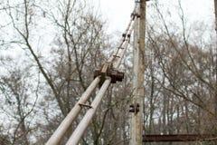Montering av bron Royaltyfria Foton