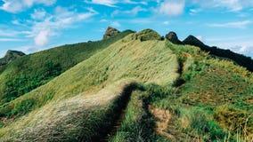 Montering Batualo av Batangas Filippinerna Arkivbilder