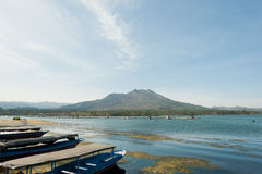 Montering Batur 1 royaltyfria bilder