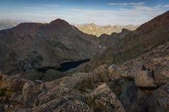 Montering Bierstadt - Colorado Royaltyfria Foton