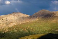 Montering Bierstadt - Colorado Royaltyfri Foto