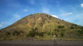 Montering Bromo i Indonesien Arkivbild
