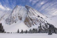 Montering Chester Kananaskis Country Alberta Canada Arkivfoto