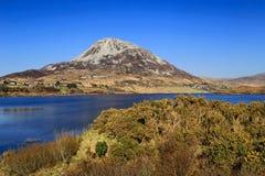 Montering Errigal, Co Donegal Irland fotografering för bildbyråer