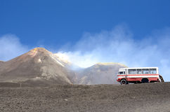 Montering Etna arkivfoto