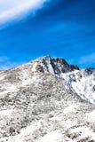 Montering Evans Summit - Colorado Arkivfoto