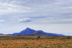 Montering för slätt en för FR västra Fotografering för Bildbyråer