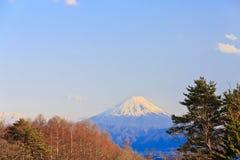 Montering Fuji Royaltyfri Bild