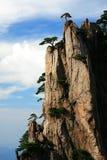 Montering Huangshan, Anhui, Kina Fotografering för Bildbyråer