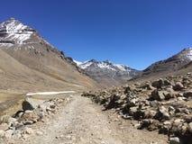 Montering Kailash Kora i vår i Tibet i Kina Royaltyfri Bild