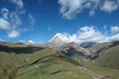 Montering Kazbek Arkivbild
