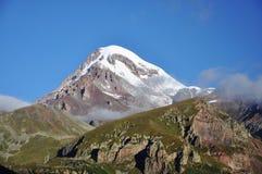 Montering Kazbek Royaltyfria Bilder