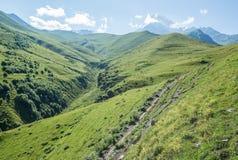 Montering Kazbek Royaltyfri Foto