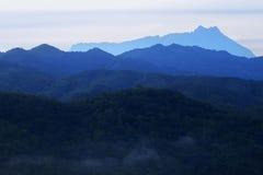 Montering Kinabalu Royaltyfri Foto