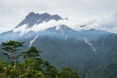 Montering Kinabalu Arkivfoton