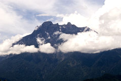 Montering Kota Kinabalu, Sabah Royaltyfri Fotografi