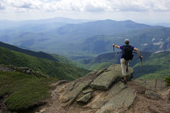 Montering Lafayette - vita berg, New Hampshire Arkivbild