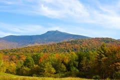 Montering Mansfield i Vermont Arkivbilder