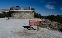 Montering Mitchell Observation Tower arkivbild