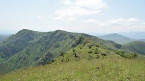 Montering Ole Sekut, Oloroka bergskedja Royaltyfri Fotografi